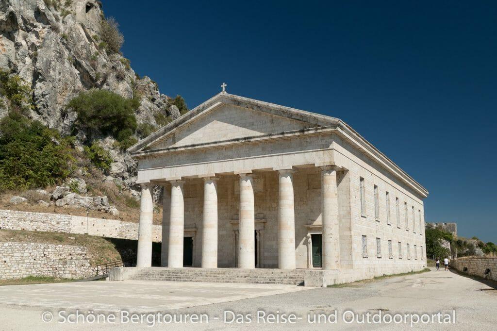 Korfu Stadt - Kirche Agios Georgios