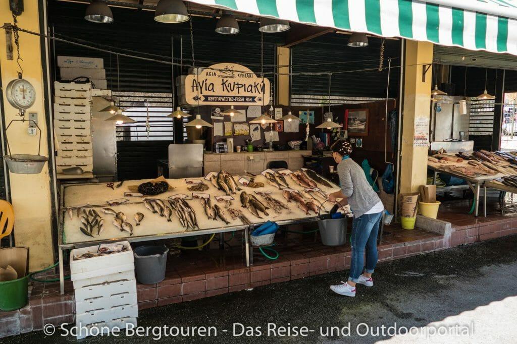 Korfu Stadt - Wochenmarkt