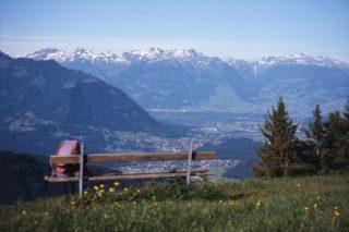 Das Vorarlberger Vier-Jahreszeiten-Wanderbuch - Ausblick