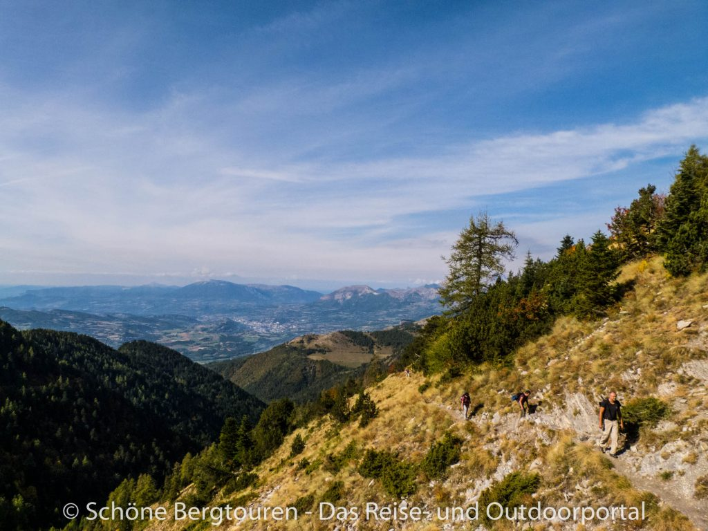 Hautes-Alpes - Aufstieg zum Le Piolit
