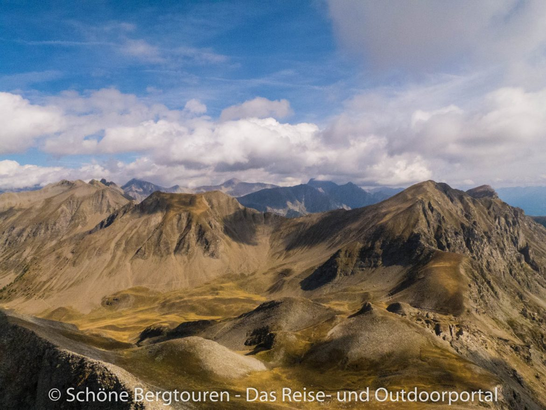 Hautes-Alpes - Ausblick vom Le Piolit