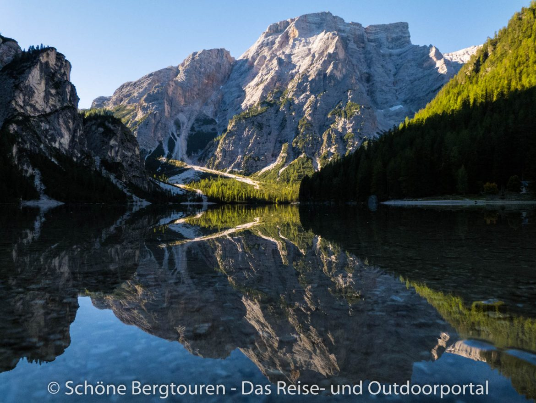 Pragser Dolomiten - Pragser Wildsee