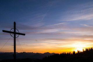 Kaiserwinkl - Gipfelkreuz des Wandbergs