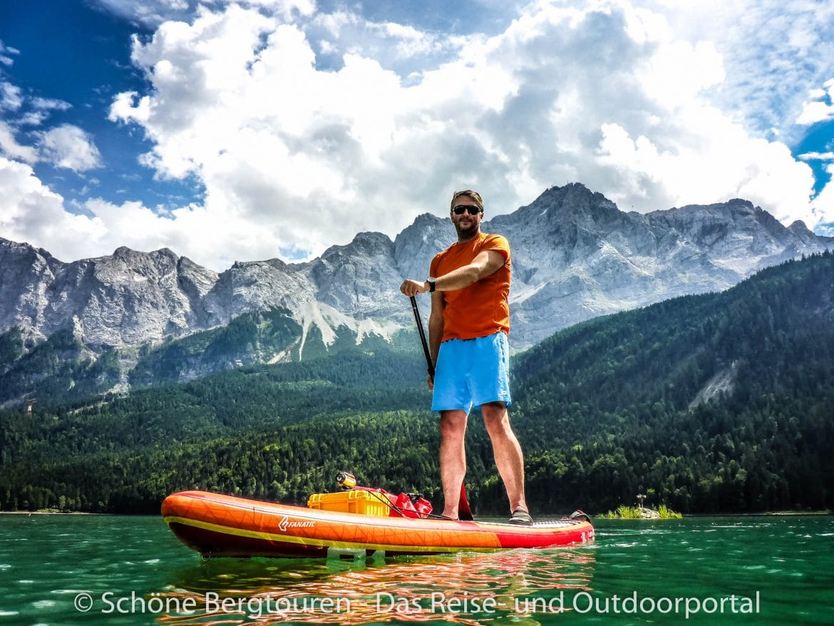 Stand Up Paddling - Eibsee