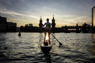 Stand Up Paddling - Oberbaumbruecke