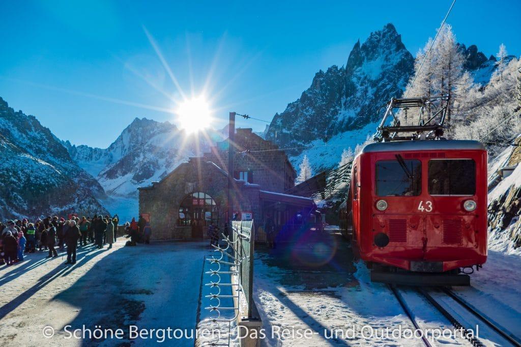 Chamonix - Bahnhof Le Montenvers
