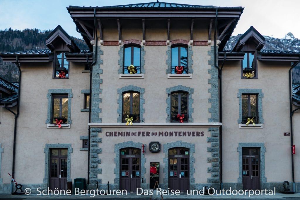 Chamonix - Bahnhof Montenvers Zahnradbahn