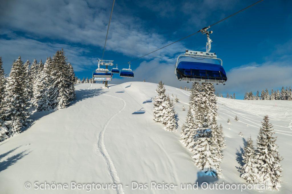 Saalbach Hinterglemm - Skifahren