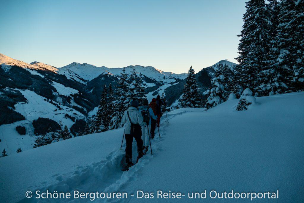 Saalbach Hinterglemm - Schneeschuhwandern