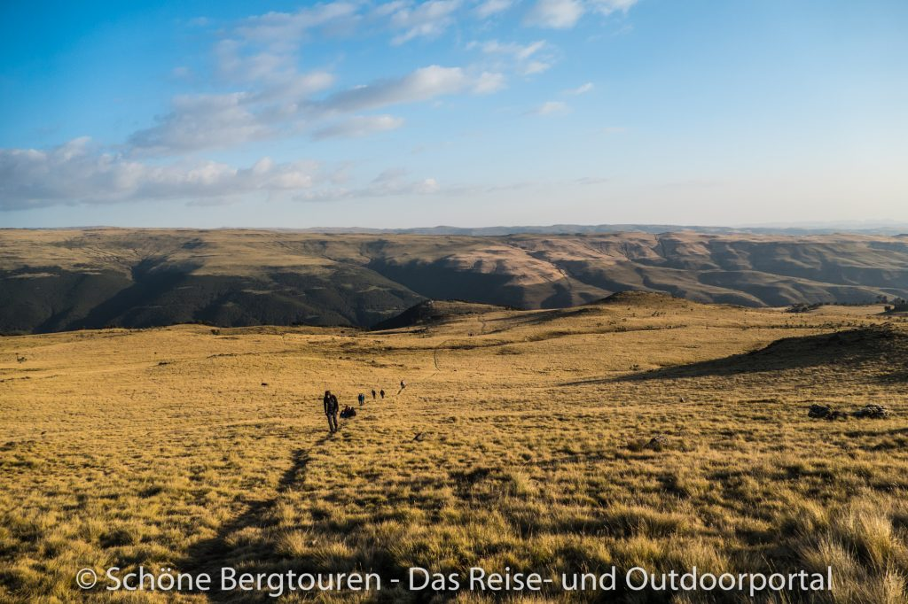 Aethiopien - Aufstieg zum Mount Kedadit