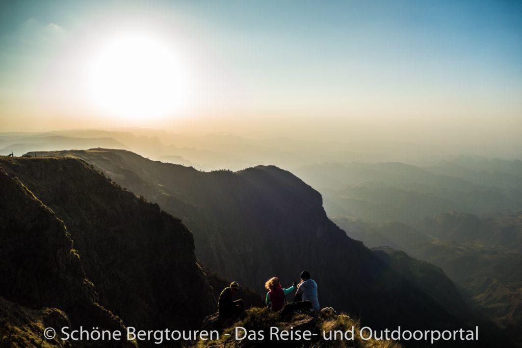 Aethiopien - Ausblick vom Mount Kedadit