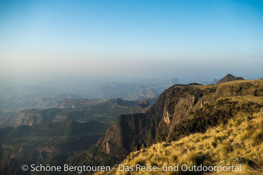 Aethiopien - Panorama vom Mount Kedadit