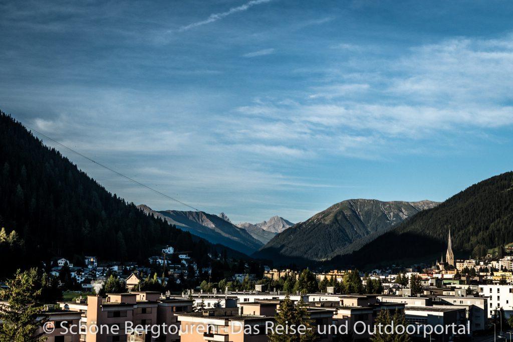 Via Valtellina - Davos am Morgen