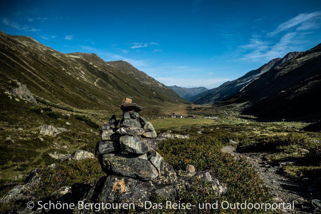 Via Valtellina - Aufstieg vom Duerrboden