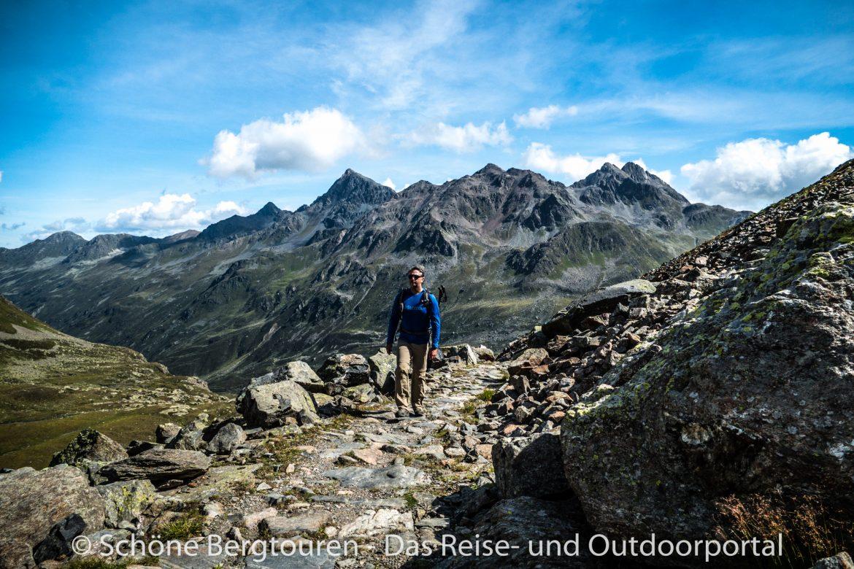 Via Valtellina - Aufstieg zum Scalettapass