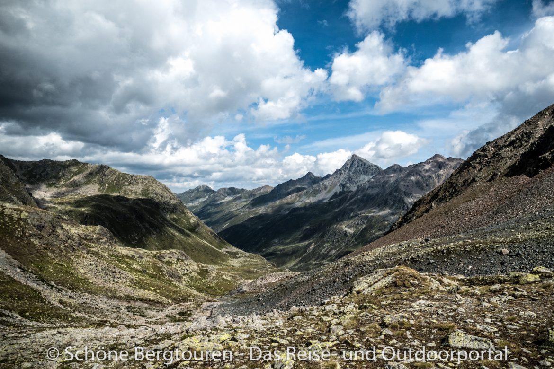 Via Valtellina - Aussicht vom Scalettapass