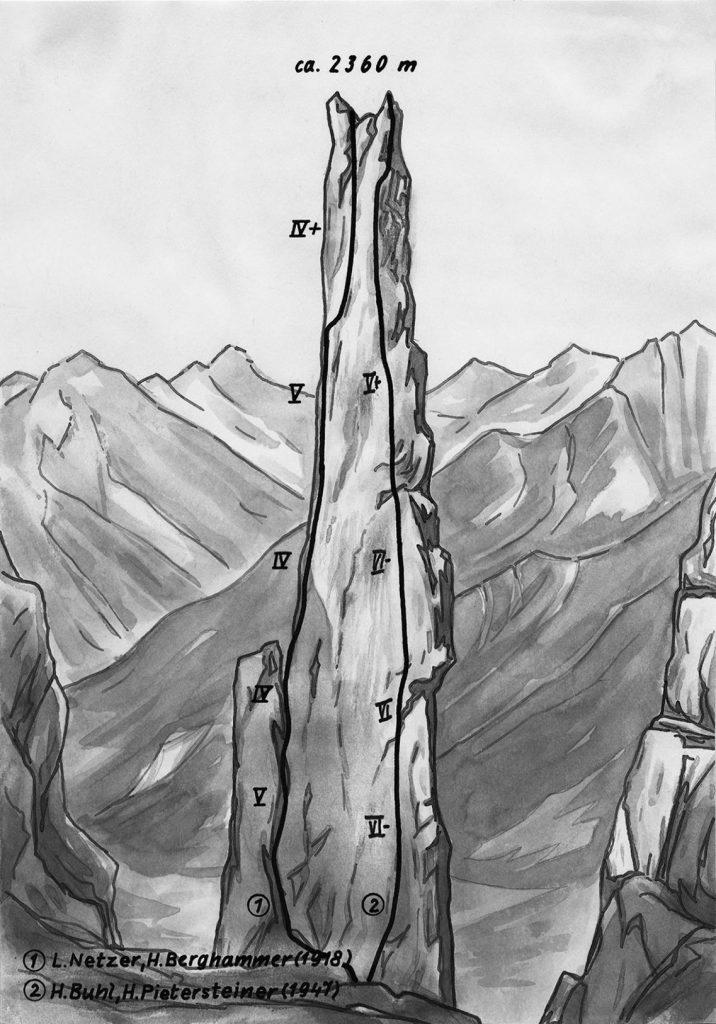 Karwendel - Gipfelstuermer-Route