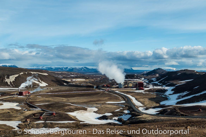 Island - Krafla-Kraftwerk