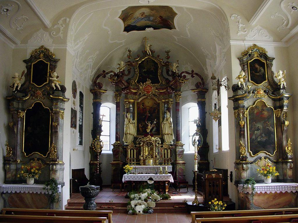 Wanderbuch Bregenzerwald - Pfarrkirche in Schwarzenberg