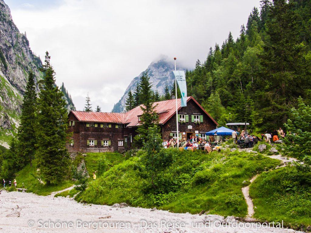 Wetterngebirge - Hoellentalangerhuette