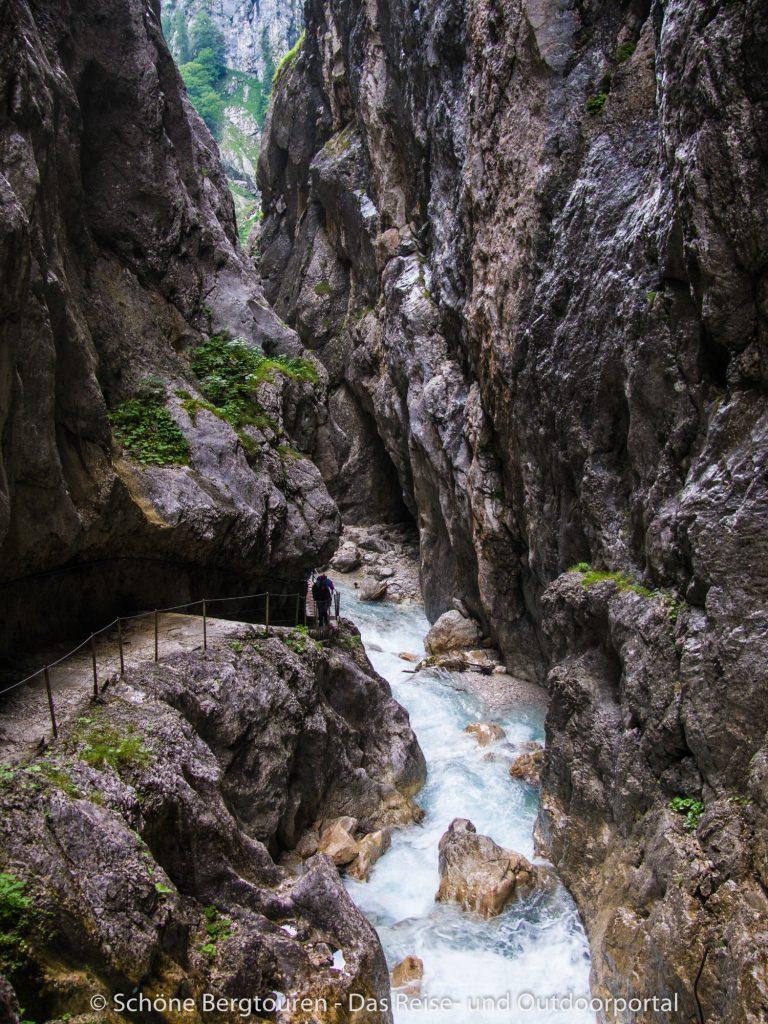 Wettersteingebirge - Hoellentalklamm
