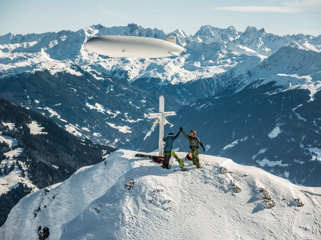 Bergwelten - Zeppelinskiing - Kleinen Valkastiel Gipfel