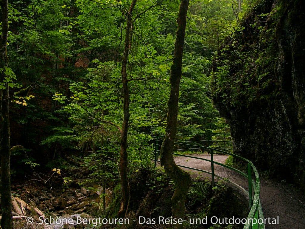 Allgaeuer Alpen - Breitachklamm