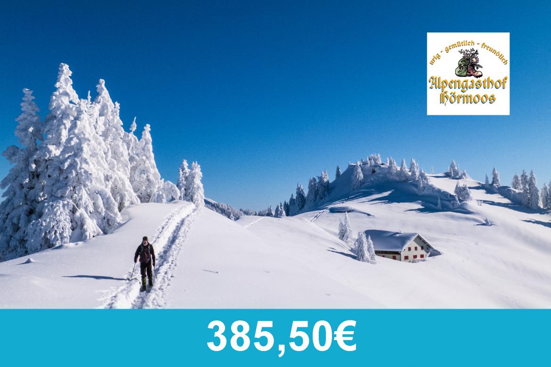 Alpengasthof Hoermoos - Schneeschuhwanderangebot 2020