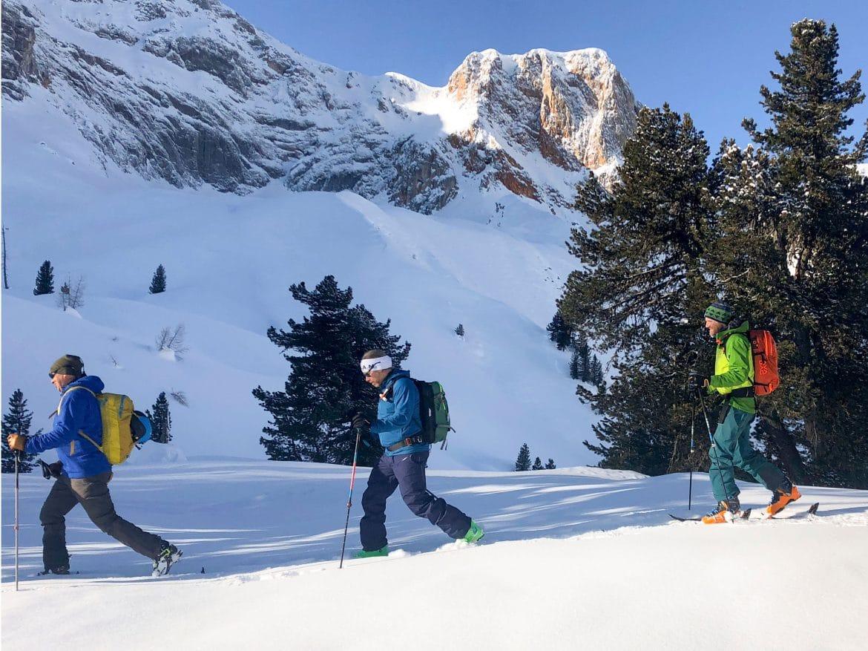 BergaufBergauf - Skitour in den Pragser Dolomiten 2
