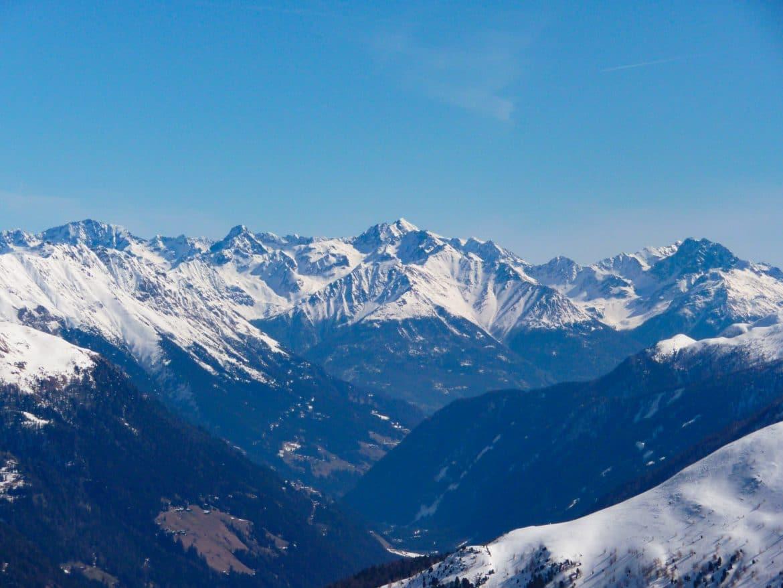 BergaufBergab - Defereggental - Blick übers Defereggental zur Schobergruppe