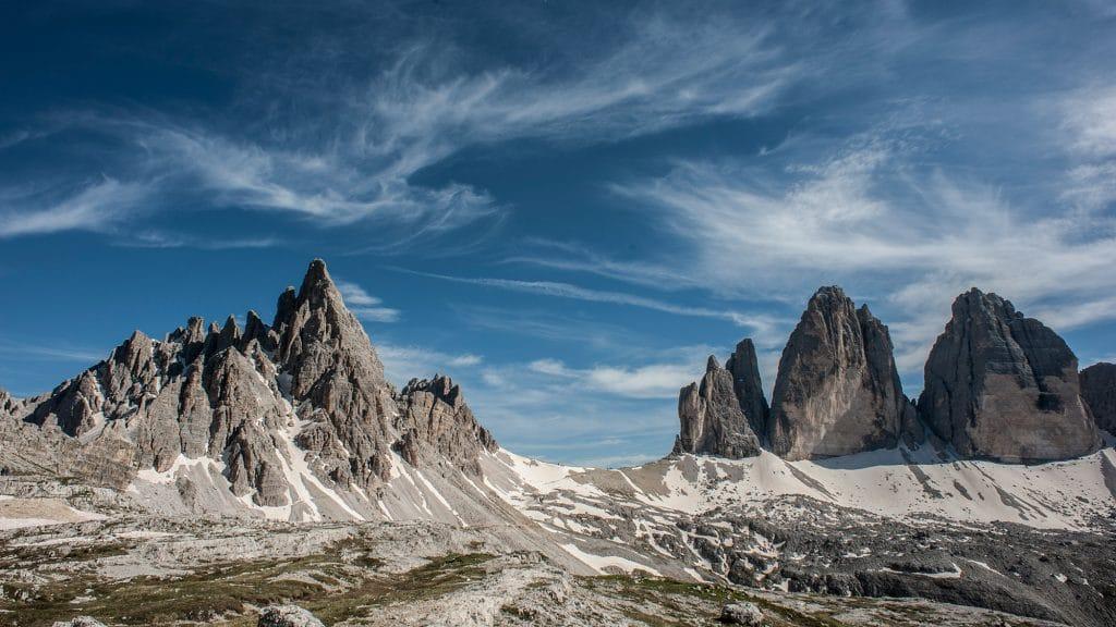 Bergwelten - Nordwaende - Die drei Zinnen