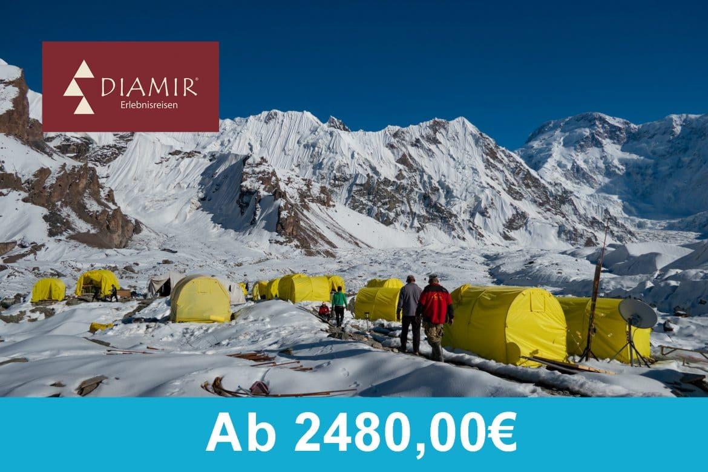DIAMIR Erlebnisreisen - Khan Trengi Trekking 2020