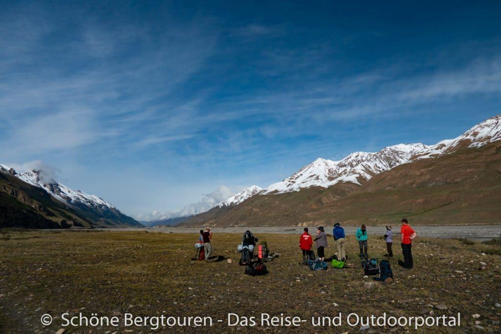 Khan Tengri Trekking - Inyltschek Tal