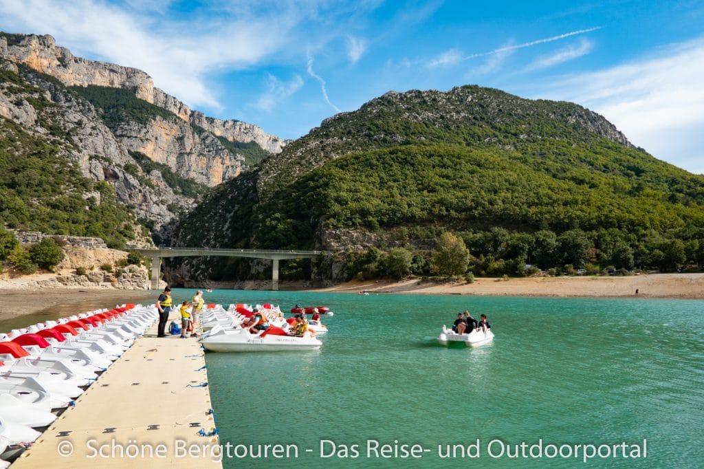 Suedfrankreich Roadtrip - Lac de Sainte-Croix