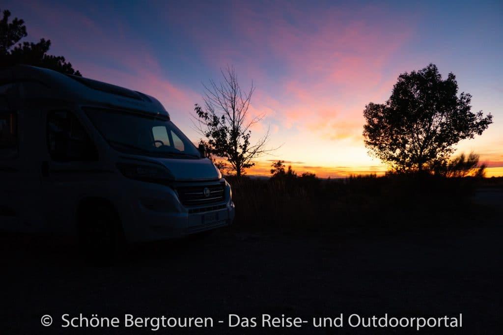 Suedfrankreich Roadtrip - Abendaemmerung