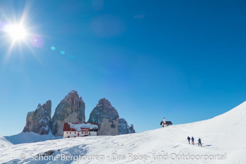 Sextner Dolomiten - Drei Zinnen und Dreizinnenhuette