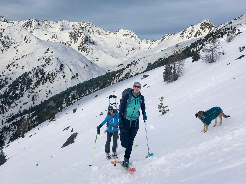 BergaufBergab - Jacqueline Fritz auf Skitour