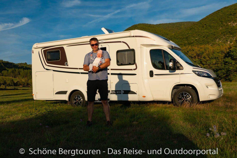 Suedfrankreich Roadtrip - Wohnmobil mit Baby