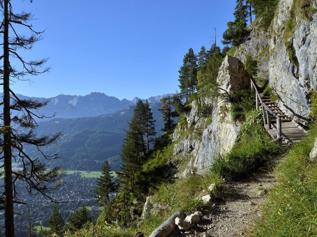 Wanderung Kramerspitz - Felsenkanzel am Kramer
