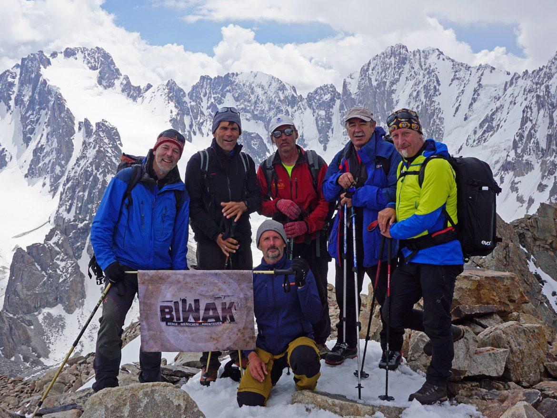 Biwak-Team auf dem Boks Peak 4298m
