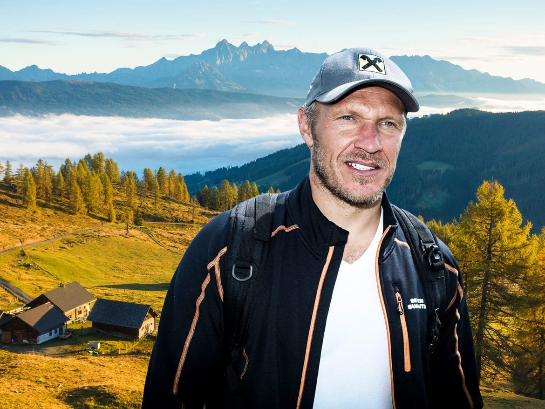 Bergwelten - Hermann Maier auf Lackenalm