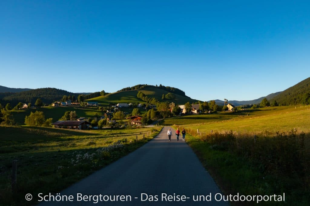 Vercors - Abendspaziergang in Meaudre