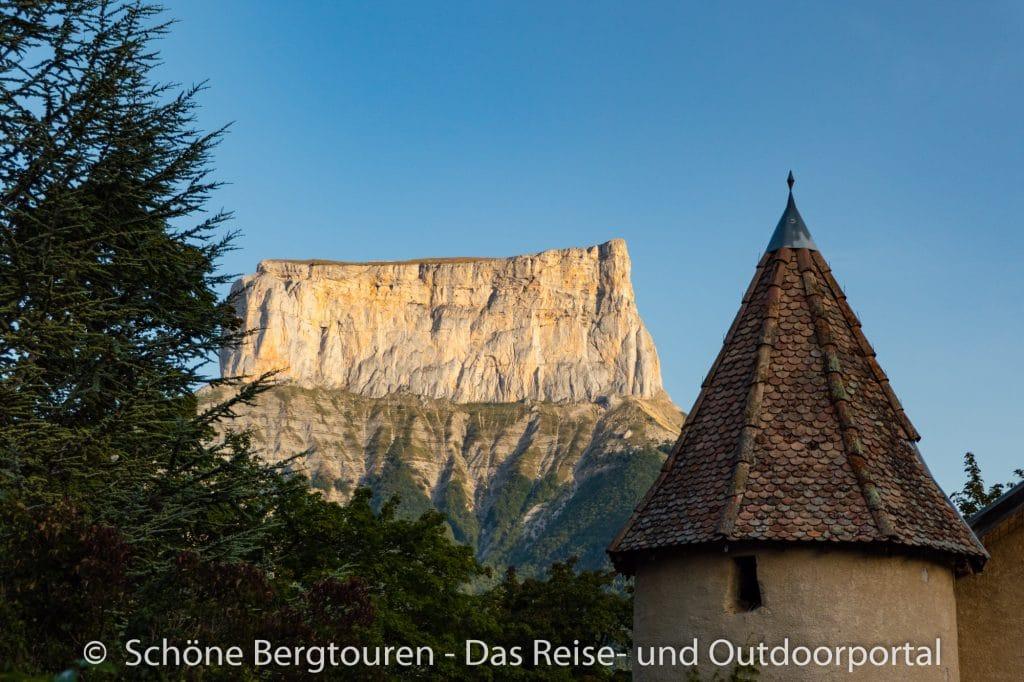 Vercors - Mont Aiguille am Morgen