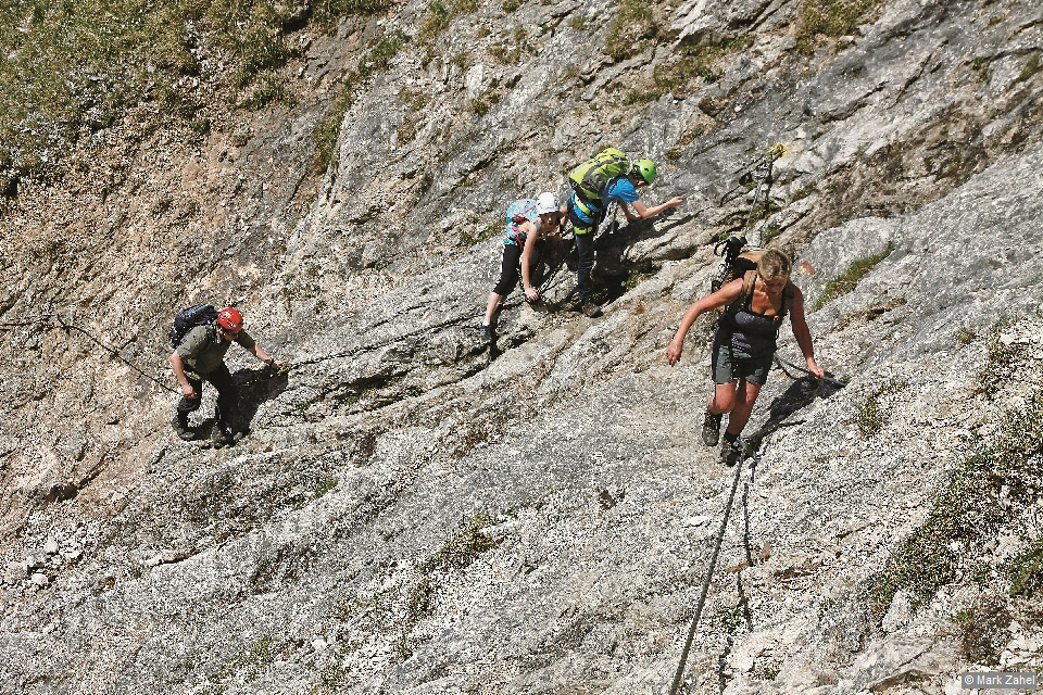 Ammergauer Alpen - Aufstieg Tegelberg