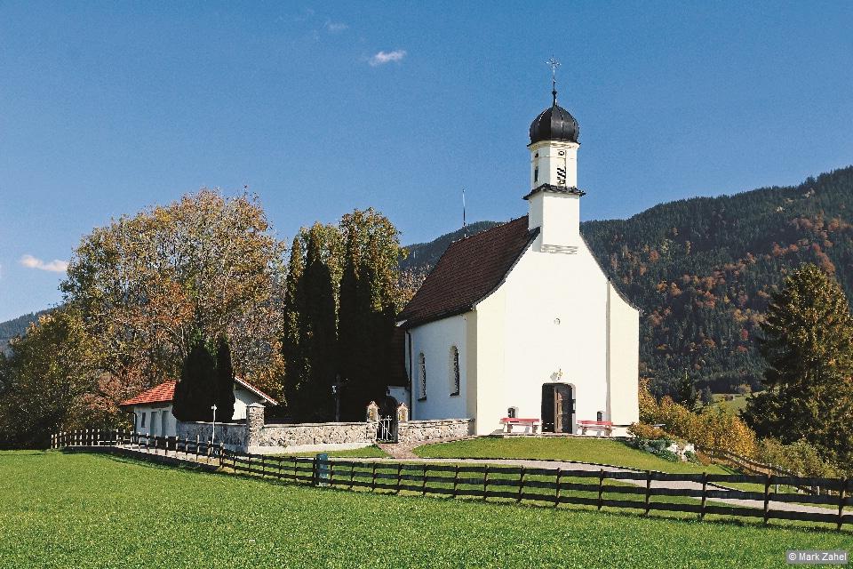 Ammergauer Alpen - Kirchlein St Peter bei Berghof