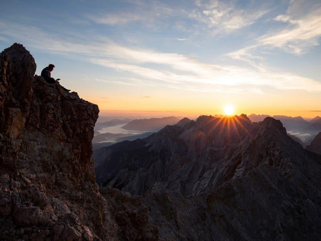 Bergwelten - Jakob Schweighofer filmt den Sonnenaufgang