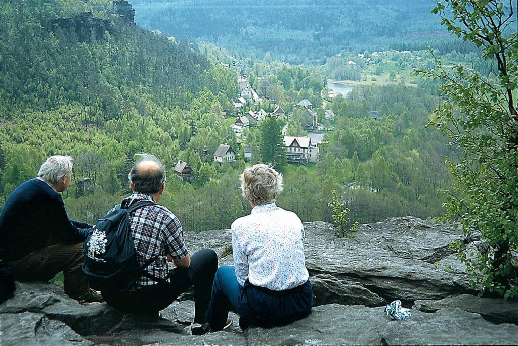 Elbsandsteingebirge - Grenzplatte