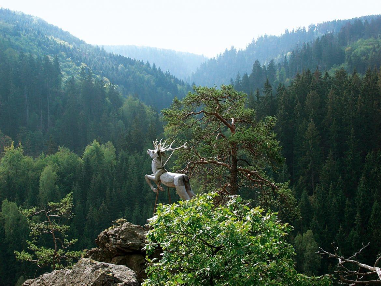 Fichtelgebirge - Hirschsprung im Hoellental