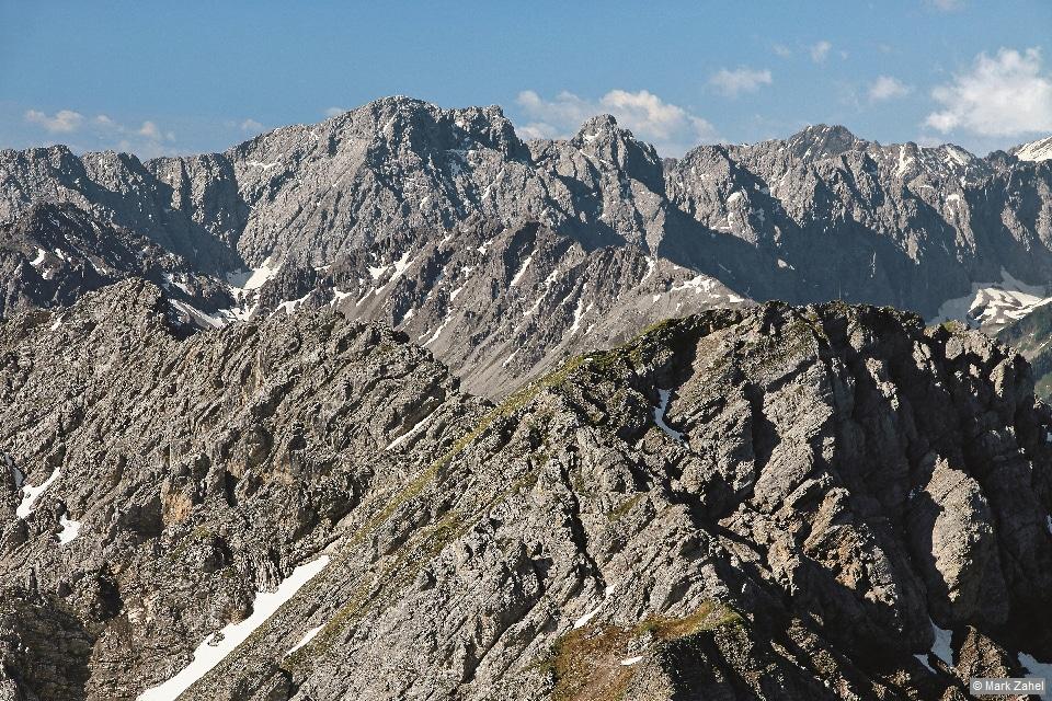 Lechtaler Alpen - Bergpanorama