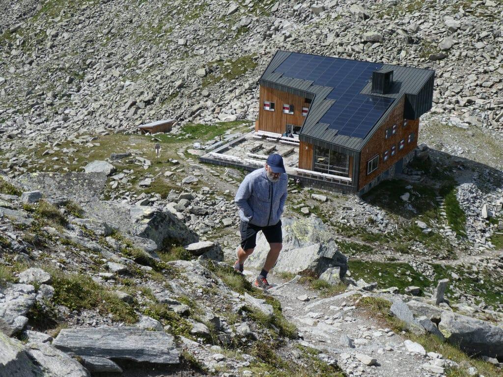BergaufBergab - Edelrauthuette - Aufstieg zum Huettengipfel